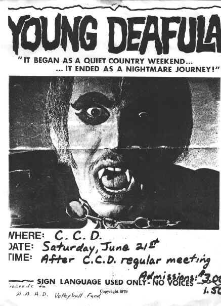 Deafula dirigida por Peter Wolf, 1975