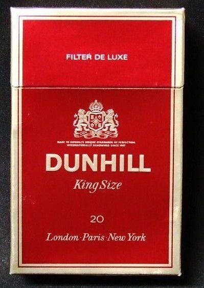 Dunhill: El tabaco a través de una vida