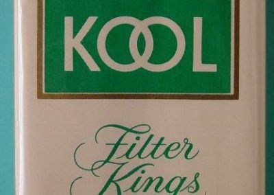 Kool: El tabaco a través de una vida