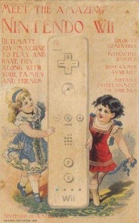 Nuevos productos y publicidad vintage: Nintendo