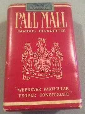 Pall-Mall: El tabaco a través de una vida