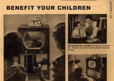 Nuevos productos y publicidad vintage: Play Station