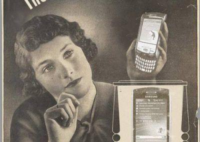 Nuevos productos y publicidad vintage: Samsung