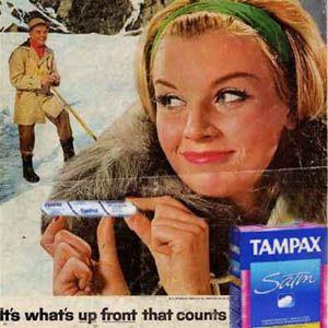 Nuevos productos y publicidad vintage: Tampax
