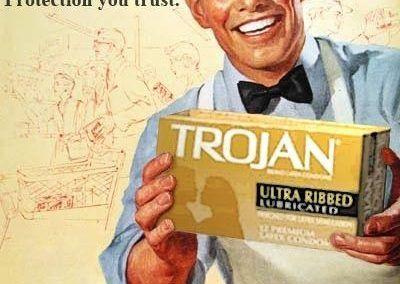 Nuevos productos y publicidad vintage: Trojan