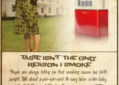 Nuevos productos y publicidad vintage: Winston