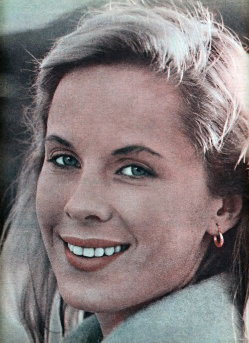 Bibi Andersson, Estocolmo, 1935