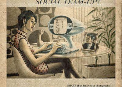 Nuevos productos y publicidad vintage: Facebook