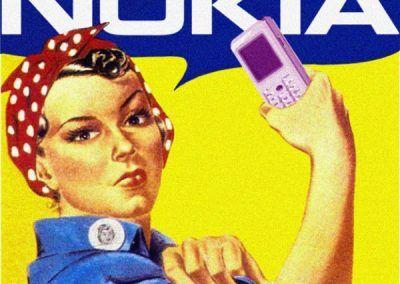 Nuevos productos y publicidad vintage: Nokia