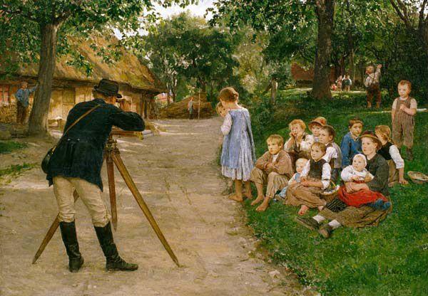 Albert Anker, Suiza, 1831