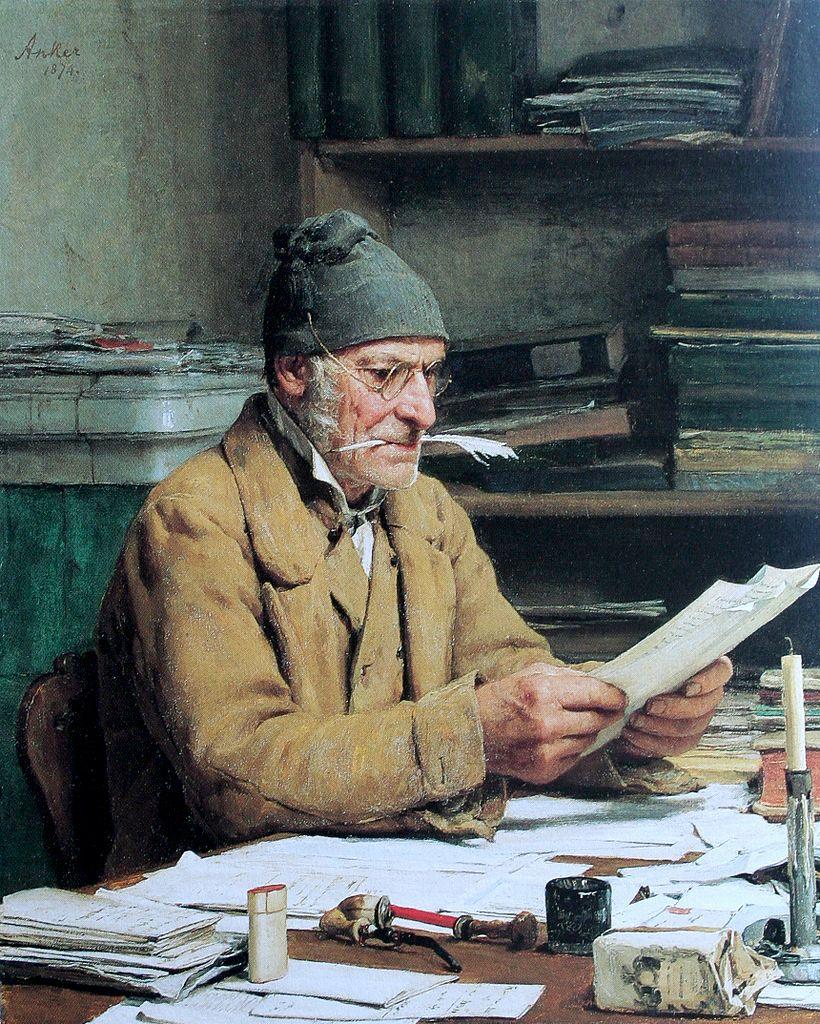 Albert Anker, Suiza, 1831-1910