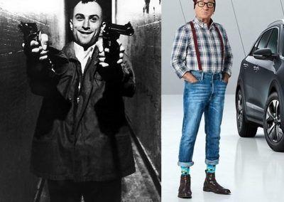 Fotomontajes serie 7: siglo XX vs Siglo XXI