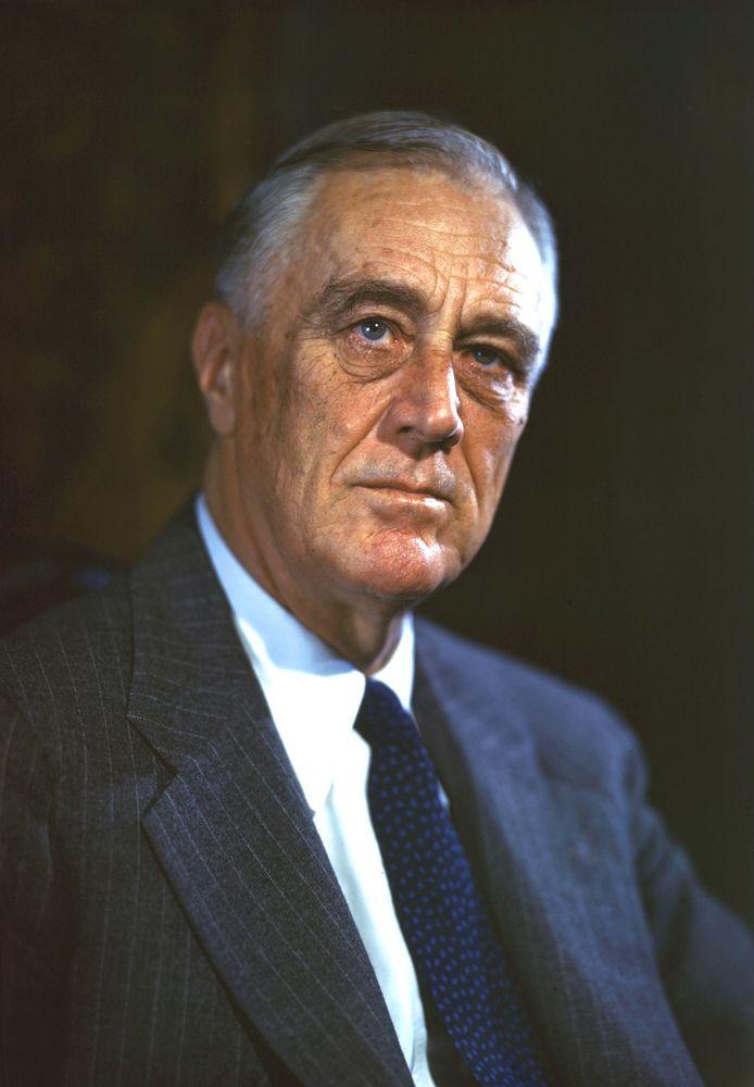 Franklin D. Roosevelt y la política