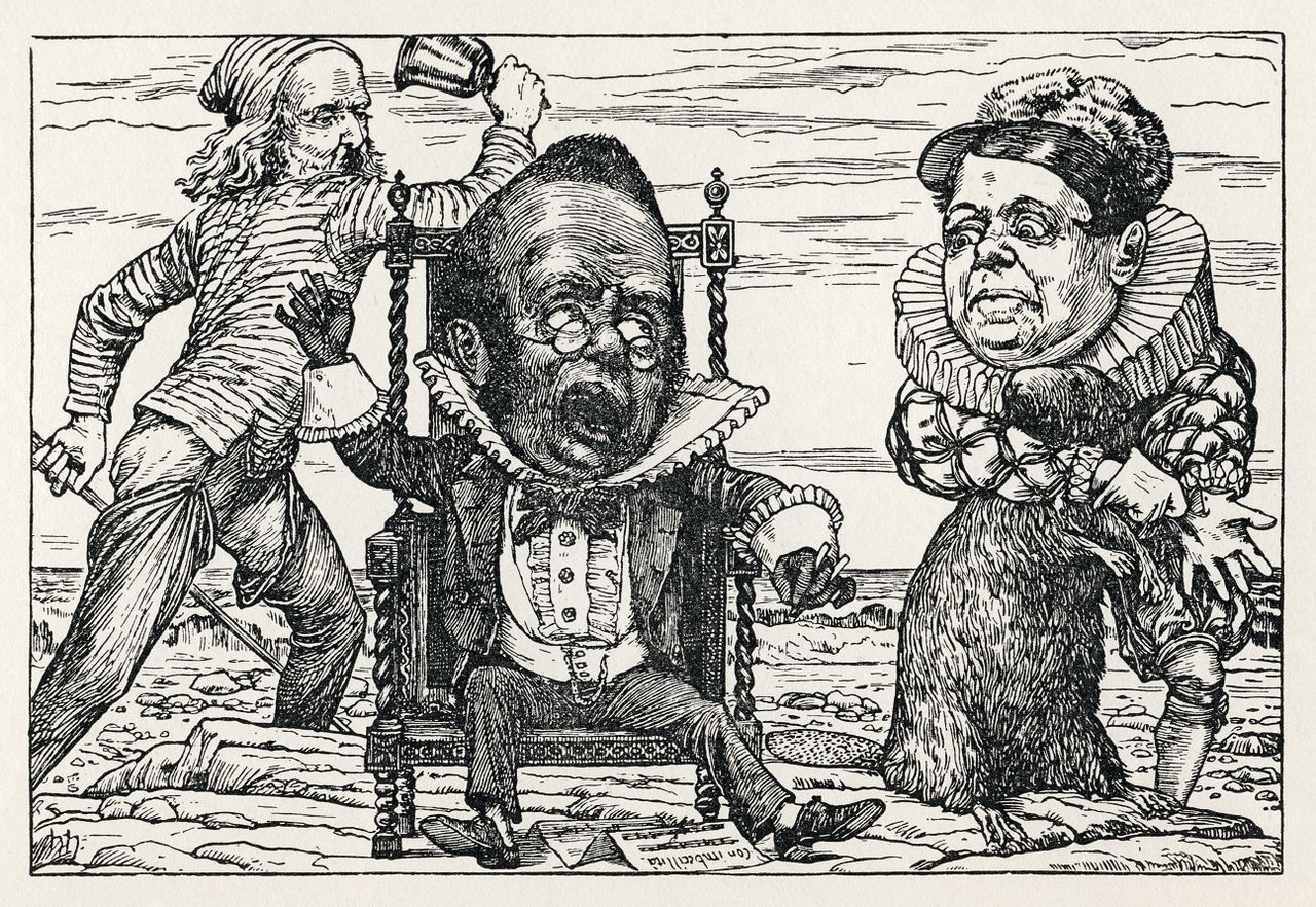 Ilustraciones de Henry Holiday para La caza del Snark
