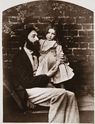 Reverendo Thomas Childe Barker y su hija