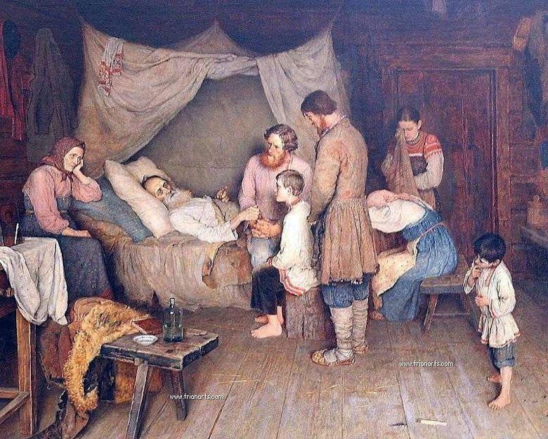 Nikolay Bogdanov-Belsky, Rusia, 1868-1945