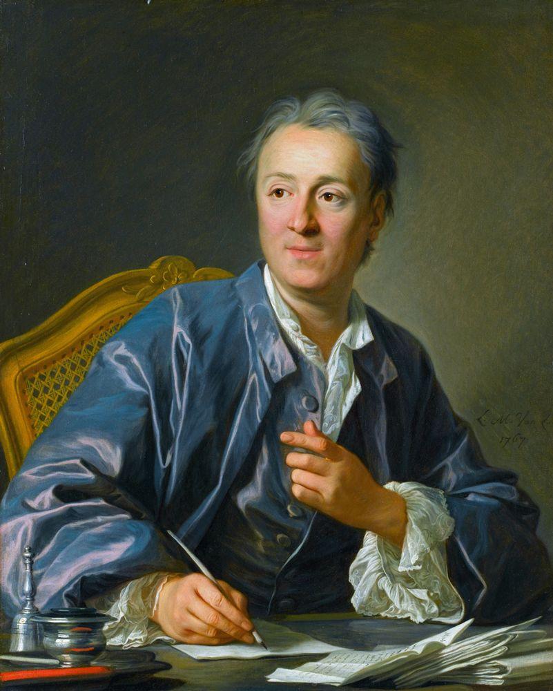 Denis Diderot y la mentira