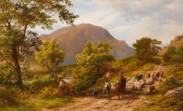 James Thomas Linnell, Inglaterra, 1826-1905