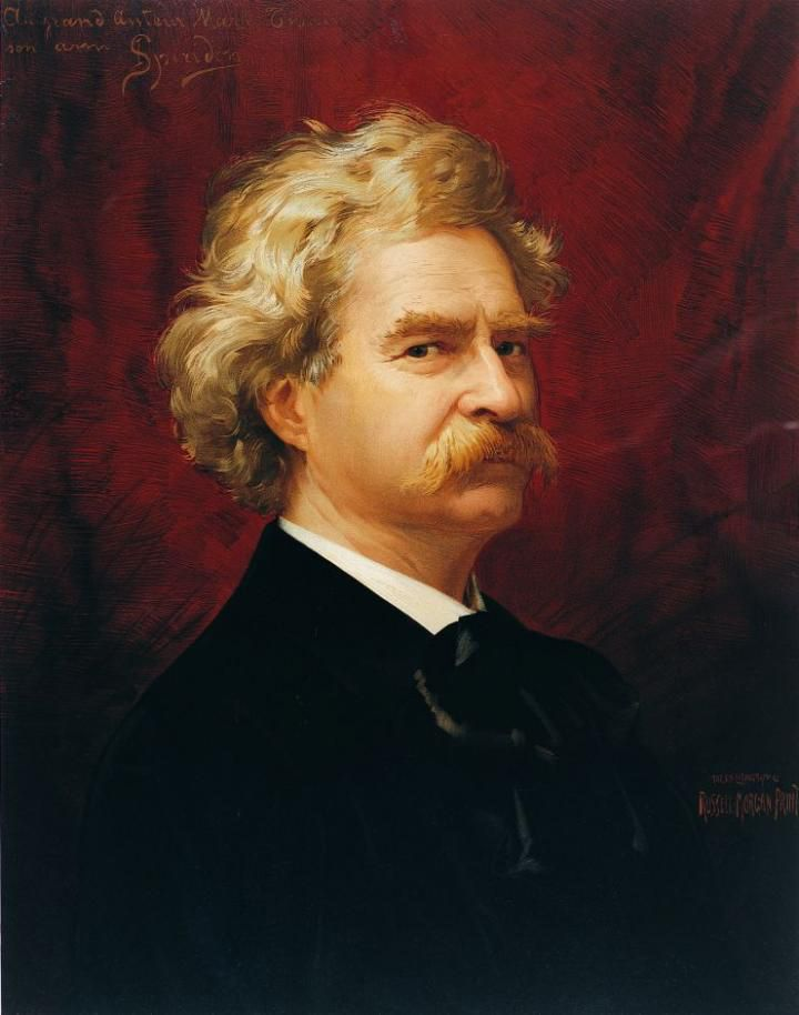 Mark Twain y el engaño