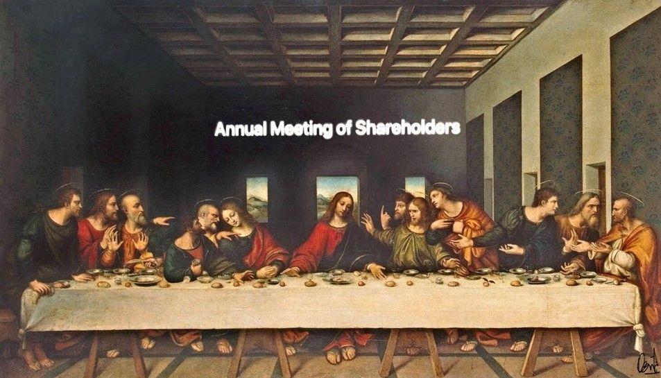 Fotomontaje de David Pérez Pol: Annual Meeting of Shareholders