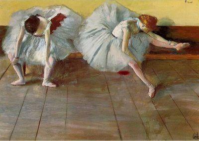 Fotomontaje de David Pérez Pol: La clase de danza