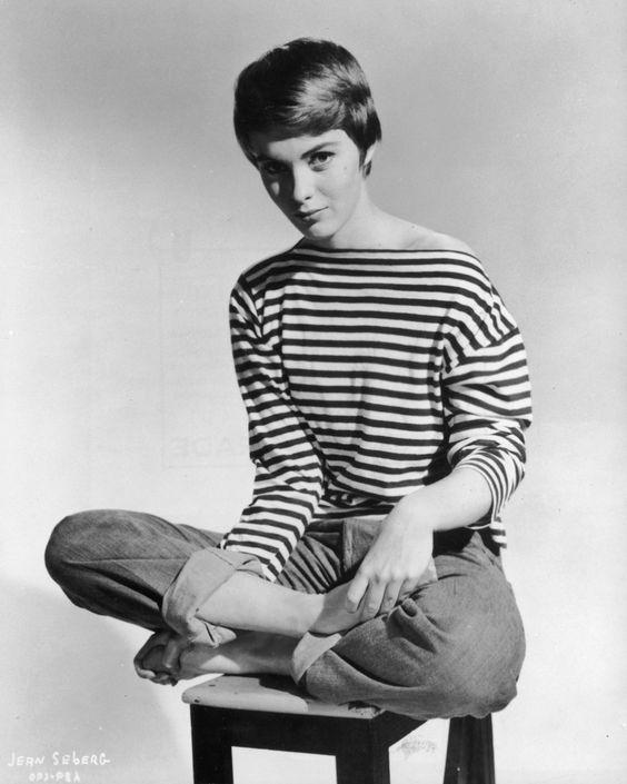 Jean Seberg, Iowa, 1938-1979