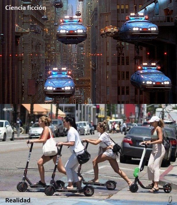 Fotomontajes David Perez Pol - ciencia ficción vs. Realidad