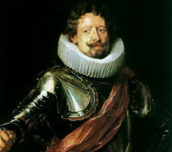 Diego Duque de Estrada alabándose