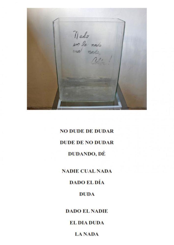 Rafael Almanza, poesía visual