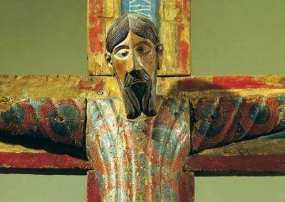 1150, Talla en madera de Cristo Crucificado