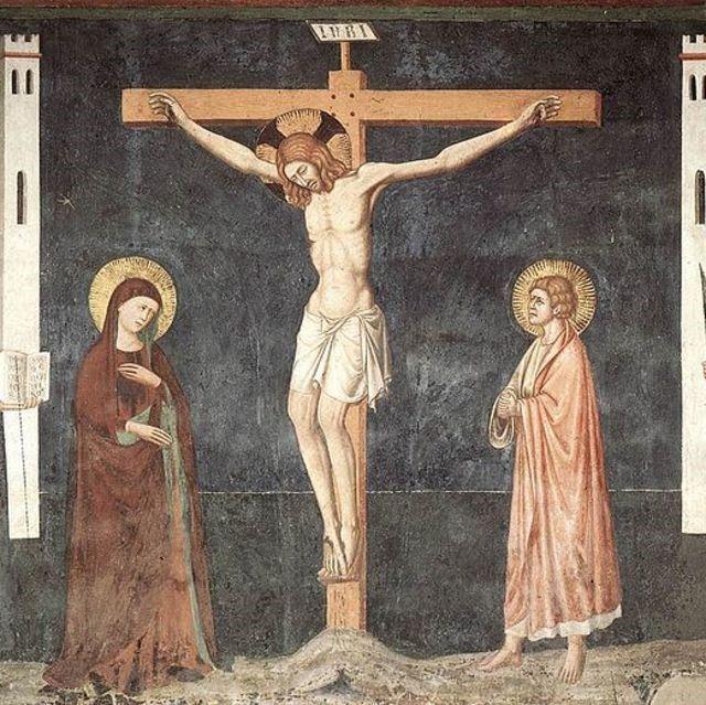 1308, Crucifixión (anónimo)