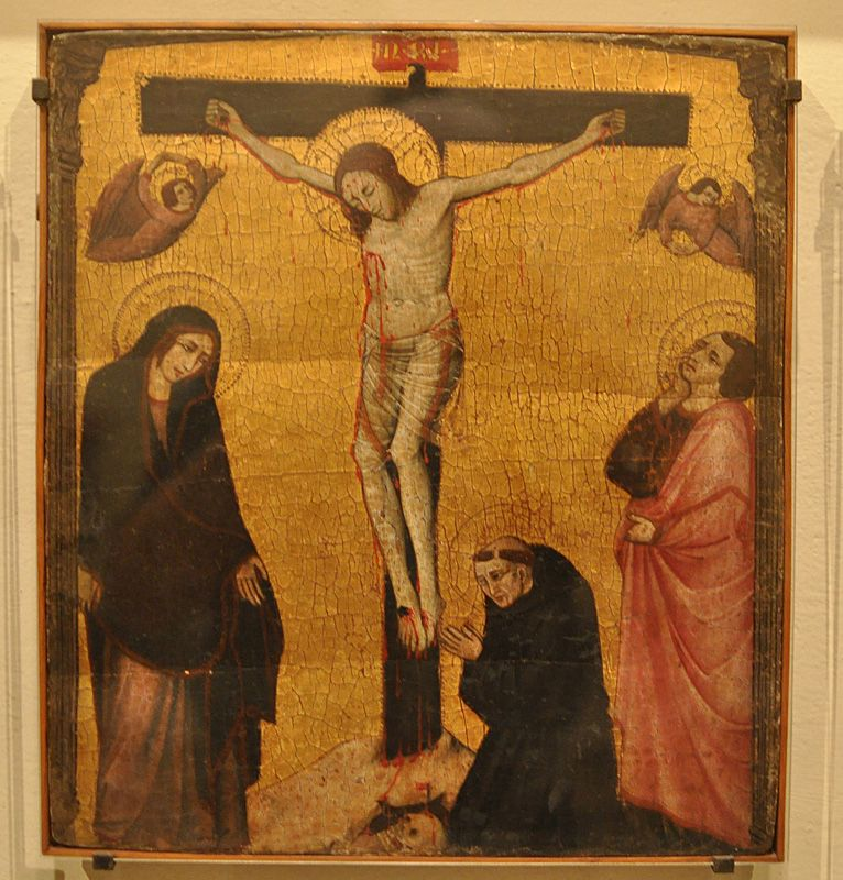 1320-30, Crucifijo de Trevi (anónimo) (Pinacoteca Vaticana de Roma)