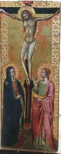 1350, Crucifixión de Andrea Bonaiuti