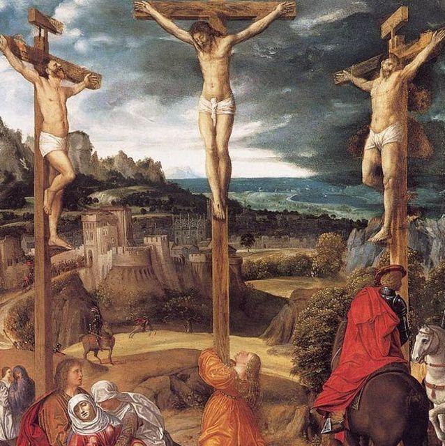 1515. Crucifixión de Giovanni Gerolamo Savoldo