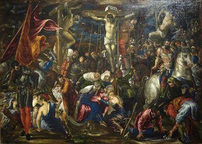 1573-76, Crucifixión de El Greco