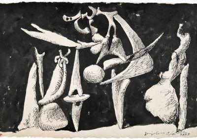 1932, La Crucifixión de Pablo Picasso
