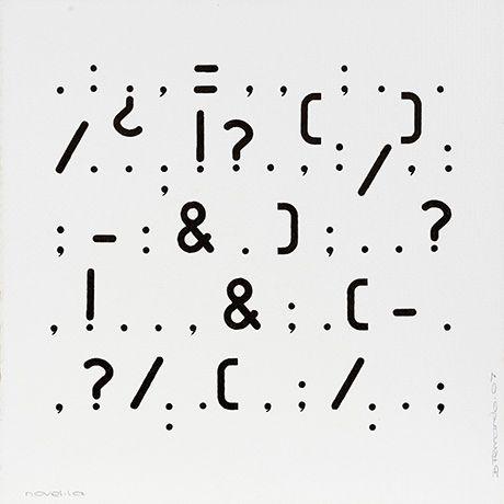 Bartolome Ferrando, poesía visual