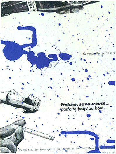 Guy Debord, poesía visual