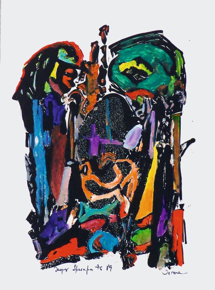 Jacques Spacagna, poesía visual