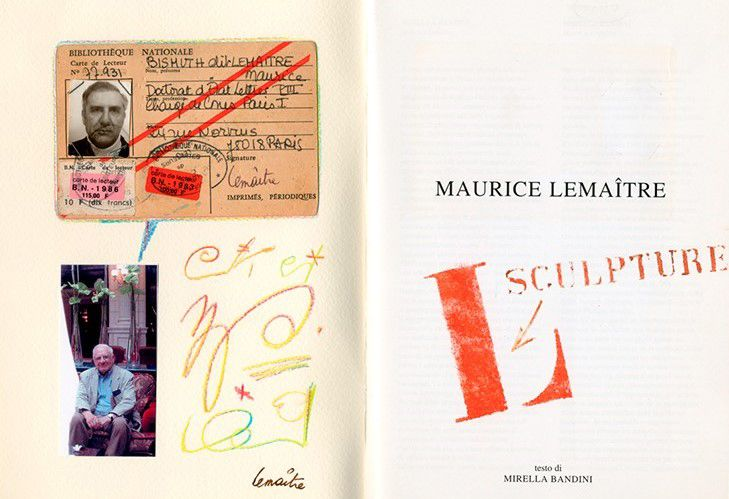 Maurice Lemaitre, poesía visual