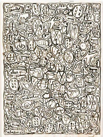 Roland Sabatier, poesía visual