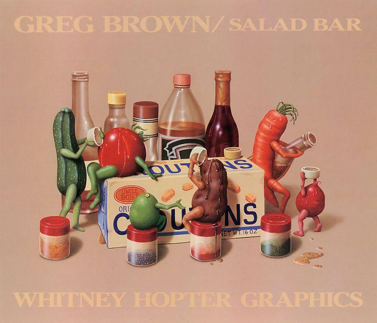 Gregory Douglas Brown, poesía visual