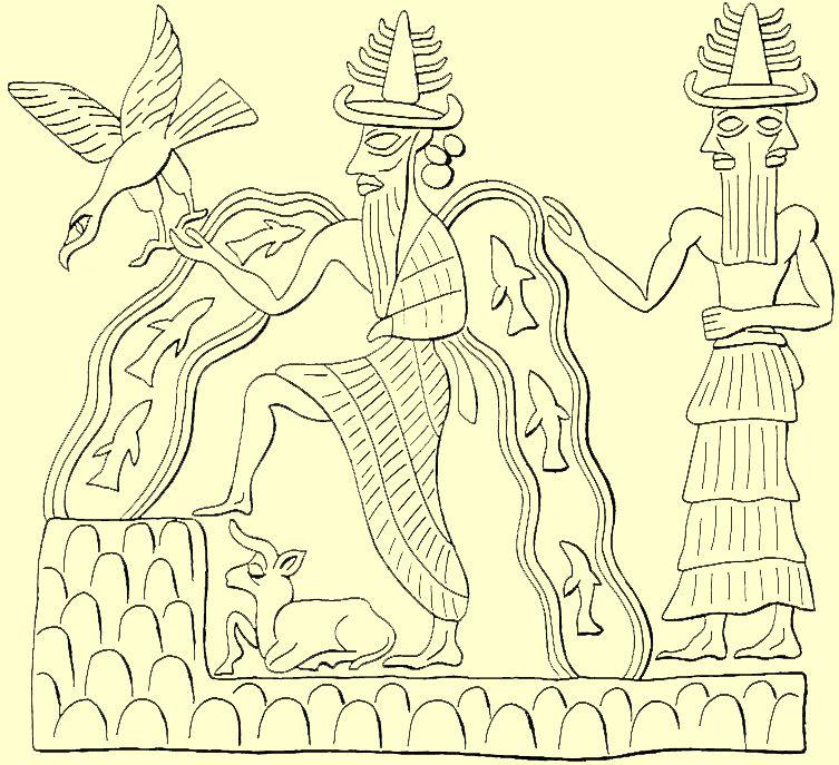 El poema de Atrahasis o de El Muy Sabio, anónimo, 1700 a.C.