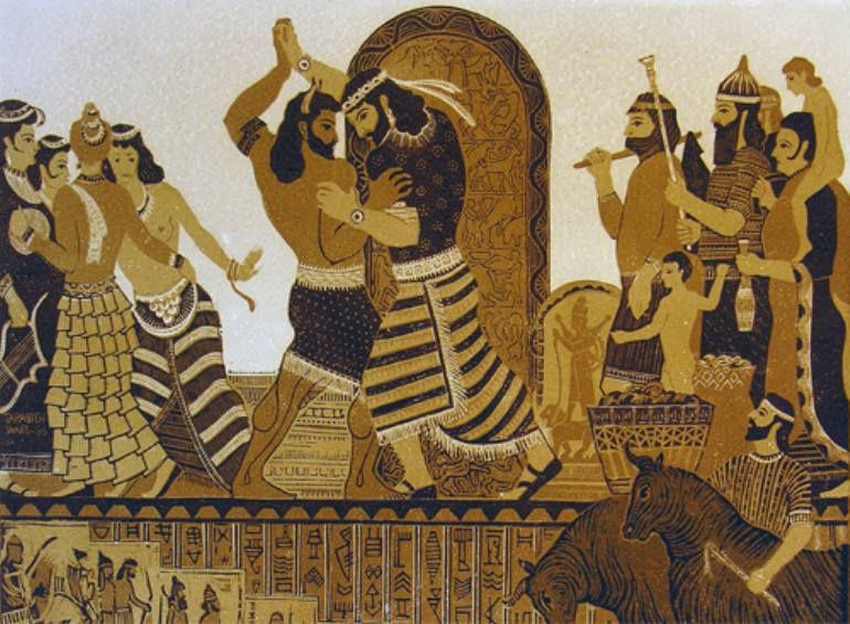 El poema de Gilgamesh, anónimo, 2500-2000 a.C.