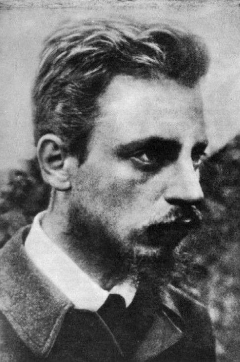Rainer Maria Rilke, Praga, 1875-1926