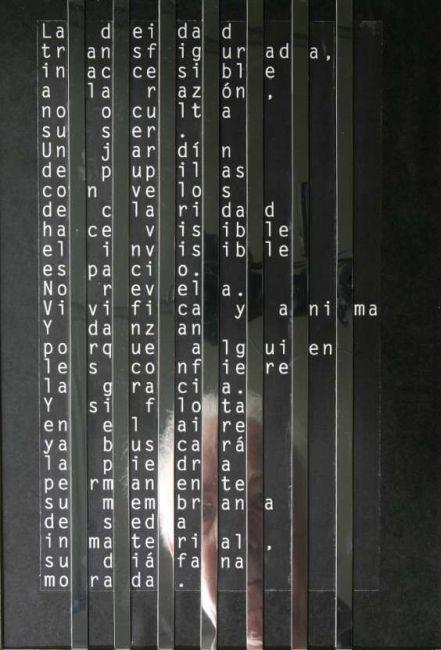 Alonso Barros Peña, poesía visual