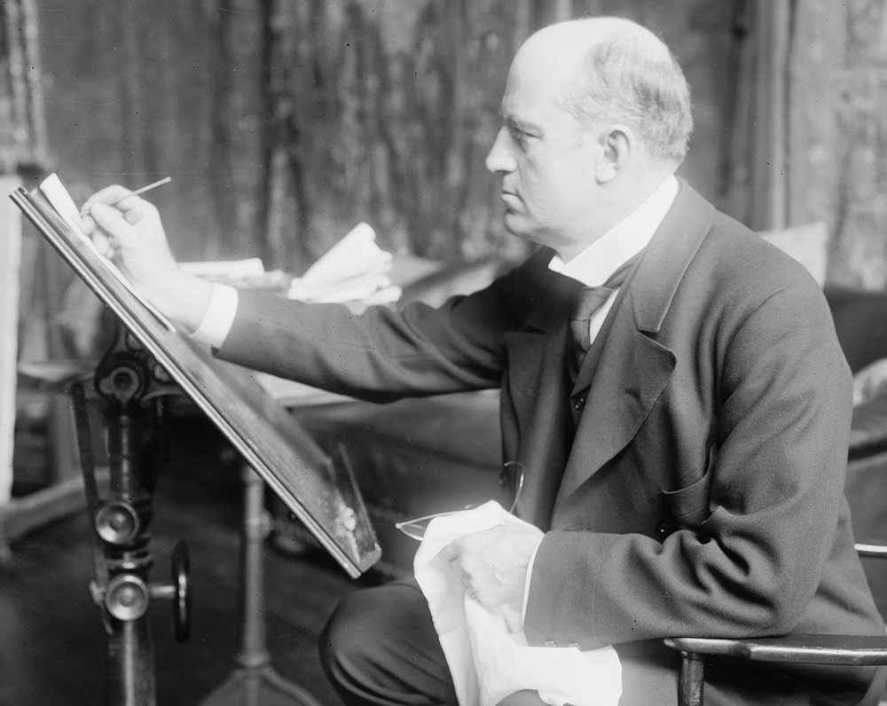 Pin-Up - Antecedentes: Charles Dana Gibson, Usa, 1867-1944