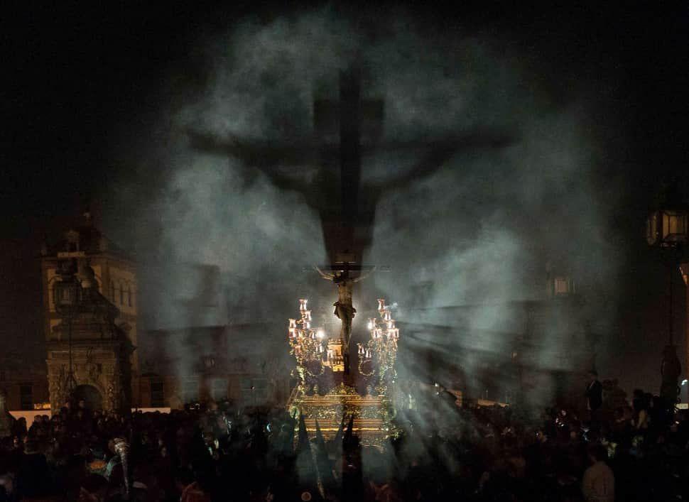 Crucifixiones (foto de Eduardo Martínez Alba)