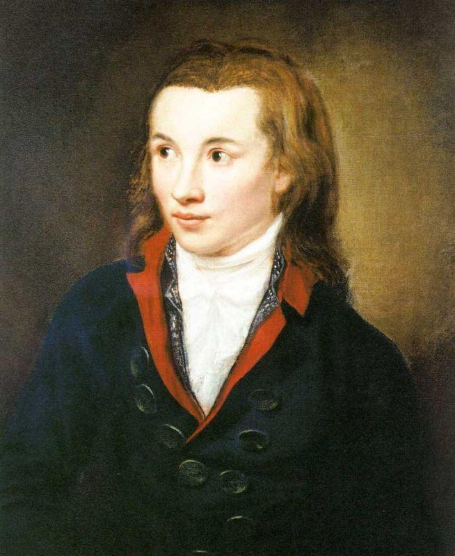 Novalis, Sajonia, 1772-1801