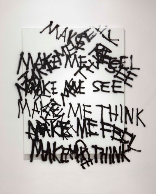 Stefan Brüggemann, poesía visual